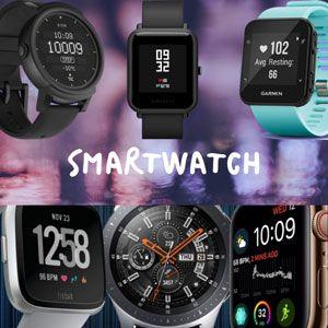 Sección de smartwatch