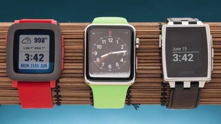 relojes inteligentes Pebble