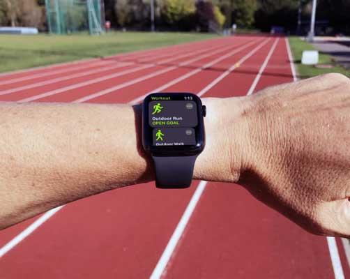 Funciones deportivas del Apple Watch Series 5
