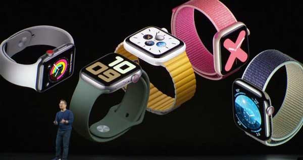 Pantalla siempre encendida en el Apple Watch Series 5