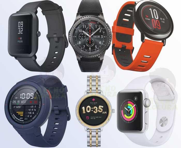 Marcas de relojes inteligentes