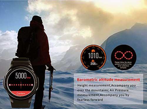 características de los smartwatch Kivors